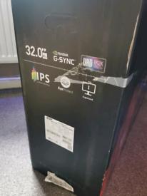 Gsync 32inch 4k gaming monitor