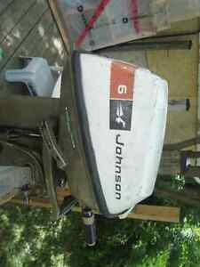 6 HP Johnson outboard