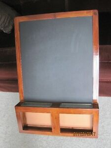 Chalk/Magnetic board with storage