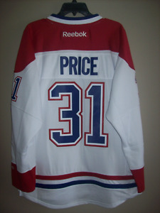 NEW SIZE M CAREY PRICE #31 MONTREAL CANADIENS NHL PREMIER JERSEY