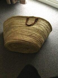 French shopping basket large