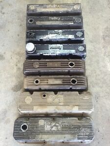 Small block and big block Chevy valve covers