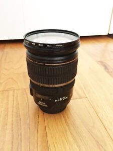 CANON EF-S 17-55MM F2.8 IS USM LENS and Camera body/set