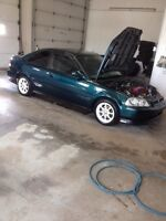 98 civic so trade for atv with plow or something like that