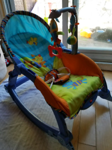 Fisher Pricer baby to toddler rocker/chair