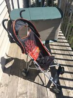 Lightning McQueen collapsible stroller