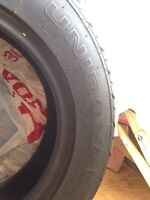 4 Uniroyal Tires in good shape