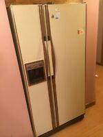 Free side by side fridge