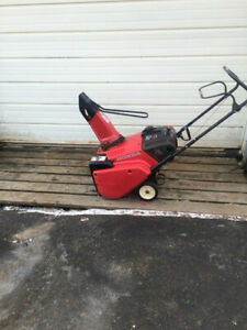 Honda Snowblower Model HS621