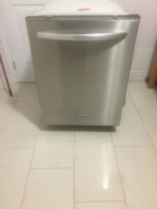 kitchenaid stainless steel dishwasher inside out