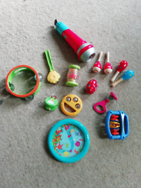 Free to collector toddler musical instruments
