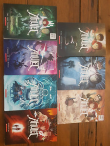 Amulet books #2, 3 and 4