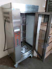 Brand New Large Commercial Electric Rotisserie
