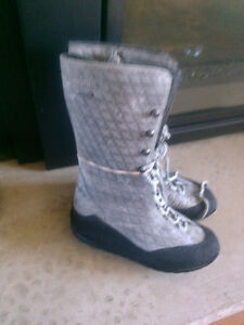 Rockport winter boots grey new