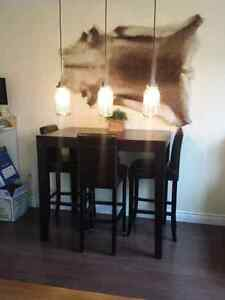 Almost NEW URBAN BARN Bar Height Dining Table