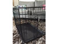 Puppy or small dog crate cage pen house bed