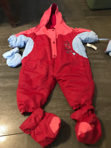 Girls Snowsuit 24 months. Brand New with Tags Attached
