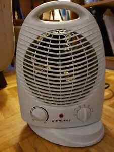 Airworks compact fan space heater