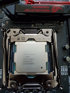 6800k and motherboard/Asus RAMPAGE V EXTREME!!!