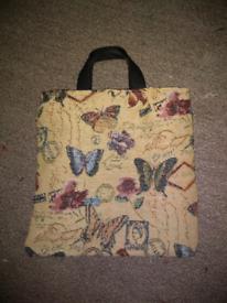 Handmade kids butterfly bag