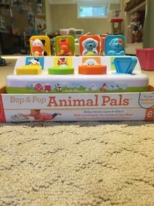 Infant toy - Bop & Pop Animal Pals new in package Kitchener / Waterloo Kitchener Area image 3