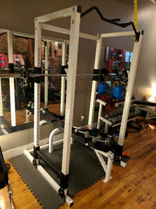 Power/Squat Rack -  212.5lbs - Olympic Barbell - Bench