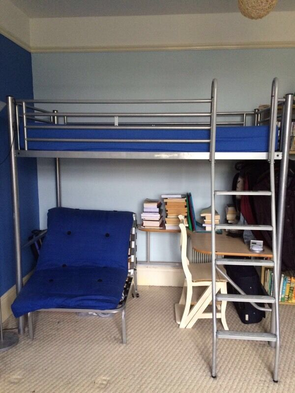 John Lewis Bunk Bed Unit With Attached Desk And Single