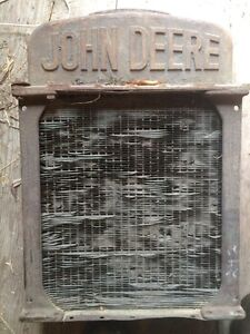 Old John Deere radiator