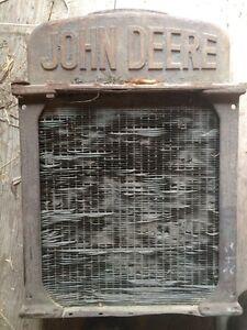 Old John Deere radiator Edmonton Edmonton Area image 1