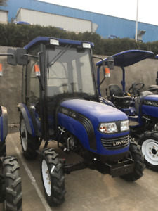 Brand New Lovol TE254 Tractor with Canopy/Cab + Front end Loader