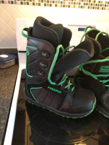 Boys firefly snowboard Boots $50