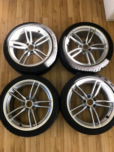 19 Inch BMW Rims and Tires for BMW M3 or M4 - Perfect Condition