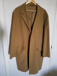 Used Banana Republic Long overcoat - mens large
