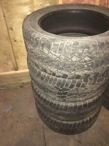 Cooper ZEON LTZ 275/55R20 M+S Tires