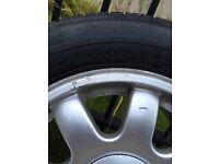 Audi A4 wheels x4 195 65