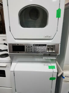 Coin Operated  Stacked Washer & Dryer