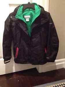 Columbia Bugaboo Interchange Winter Jacket girls Size 10-12 Stratford Kitchener Area image 1