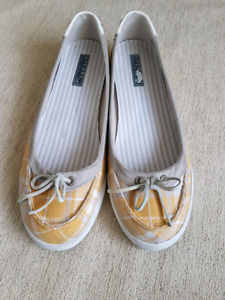 SPERRY TOPSIDER Fremont Plaid Shoes Ladies size 10