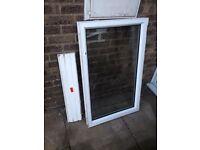 Upvc double glazed window.