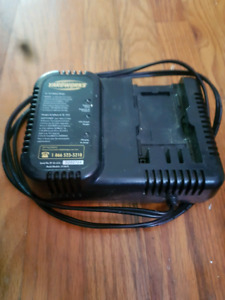 Yardworks battery charger
