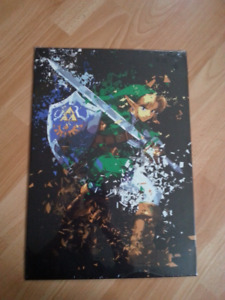 Metal Displate Poster - Link - No Holes In The Wall Magnets