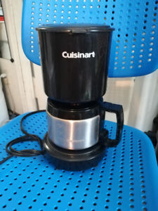 Cuisinart 4-cup coffee maker with a steel pot $3