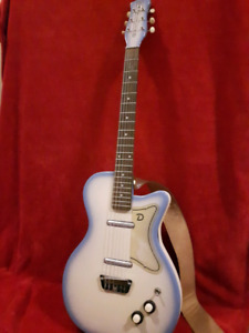Danelectro Blue Burst Electric Guitar