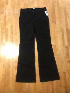 Black Khaki - Old Navy Size 2