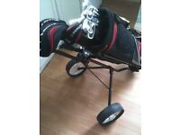 Complete Set Of Golf Clubs, Bag, Trolly, Can Deliver