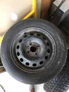 4 Michelin X-Ice Winter Tires 195/60R14  4x100 Kitchener / Waterloo Kitchener Area image 1