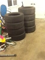 Tires for sale 215/60/R16 & 245/60/R18