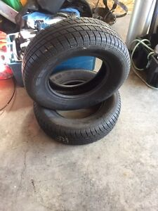 Selling two Nexan  tires.  215/70/R15