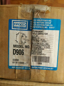 Fasco D906 - 5.6-Inch Condenser Fan Motor, 1/5 HP, 208-230 Volts