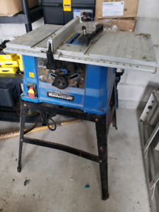 Table Saw & Stand